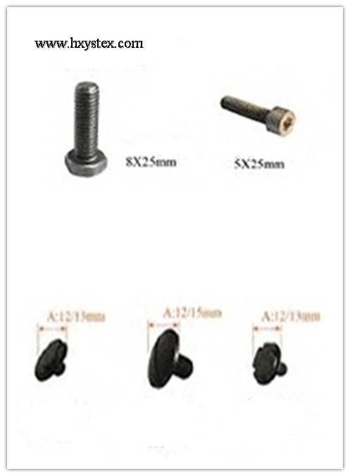 bolts for warp knitting machine