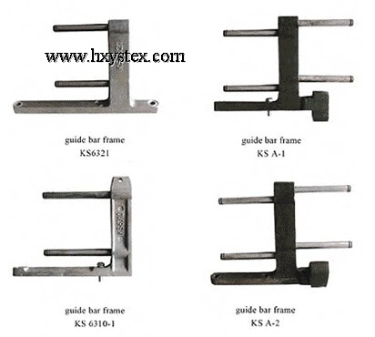 guide bar frame
